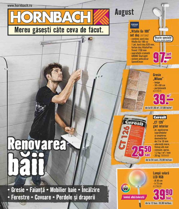 Catalog HORNBACH - 31 Iulie 2018 - 27 August 2017