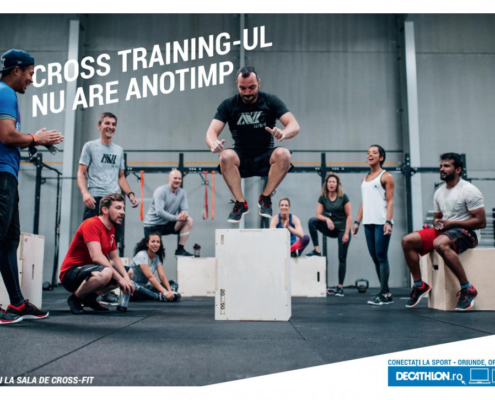 Catalog DECATHLON - Cross training-ul nu are anotimp ! 26 Octombrie 2018 - 31 Decembrie 2018
