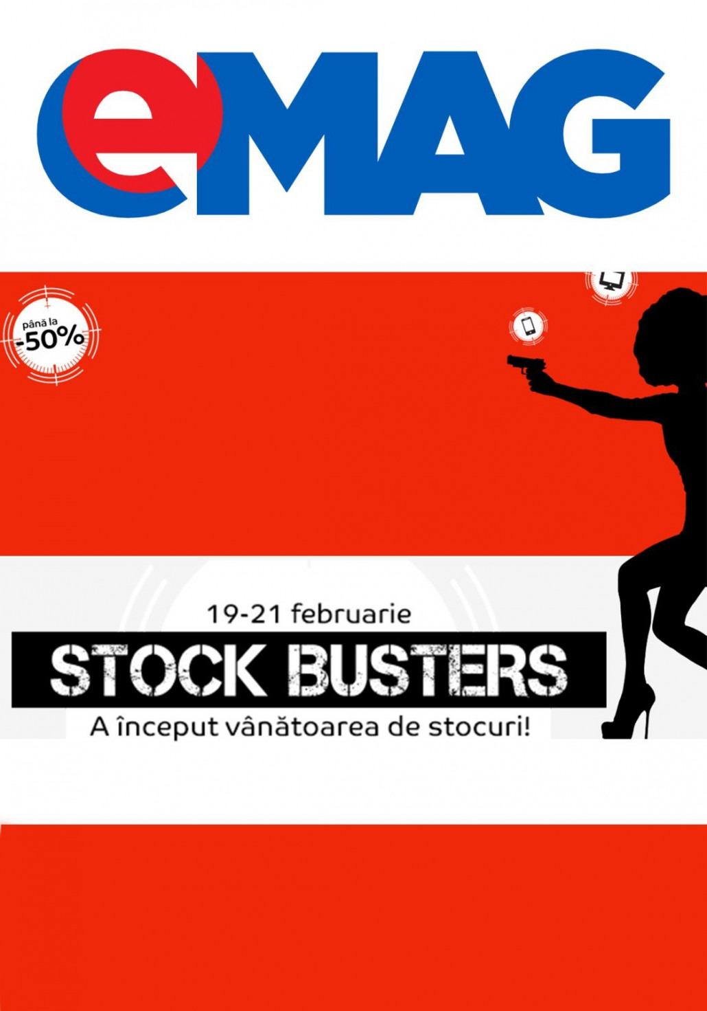 Catalog eMag - Stock Busters -50%! 19 Februarie 2019 - 21 Februarie 2019