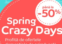 Catalog eMag - 50% Spring Crazy Days! 07 Mai 2019 - 13 Mai 2019