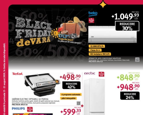Catalog ALTEX - Black Friday de vara! 15 August 2019 - 21 August 2019