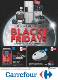 Catalog CARREFOUR - Black Friday! 31 Octombrie 2019 - 13 Noiembrie 2019