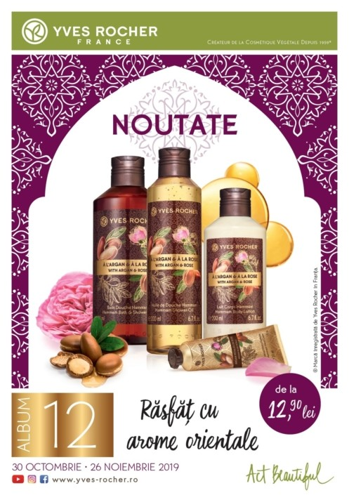 Catalog YVES ROCHER - 30 Octombrie 2019 - 26 Noiembrie 2019