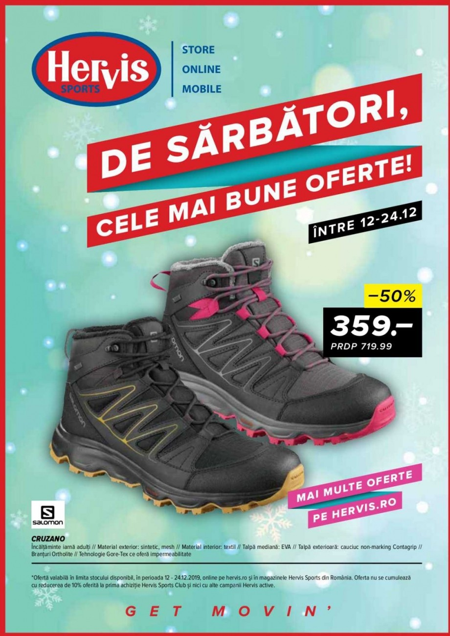 Catalog HERVIS SPORTS - 12 Decembrie 2019 - 24 Decembrie 2019