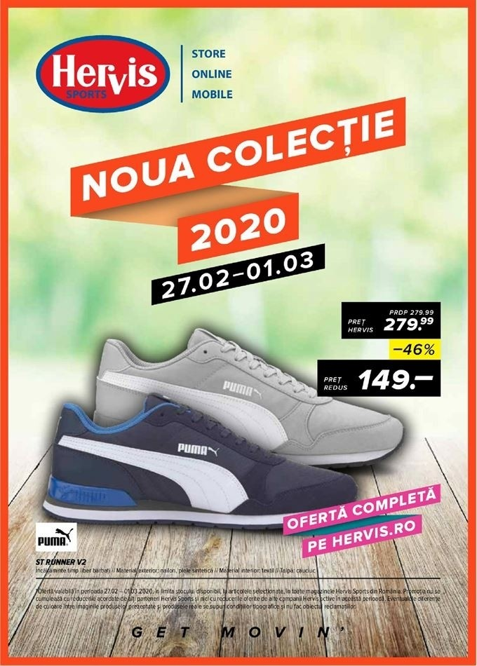Catalog HERVIS SPORTS - 27 Februarie 2020 - 01 Martie 2020
