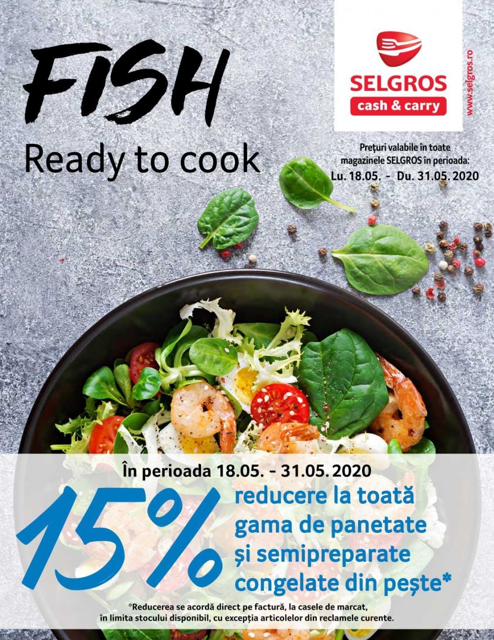 Catalog SELGROS - Fish ready to cook! 18 Mai 2020 - 31 Mai 2020