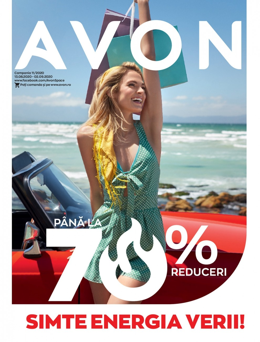 Catalog AVON C11 2020, valabil 13 August 2020 - 02 Septembrie 2020