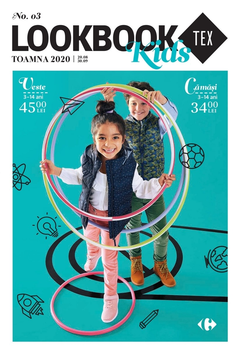 Catalog CARREFOUR TEX Kids - 20 August 2020 - 30 Septembrie 2020