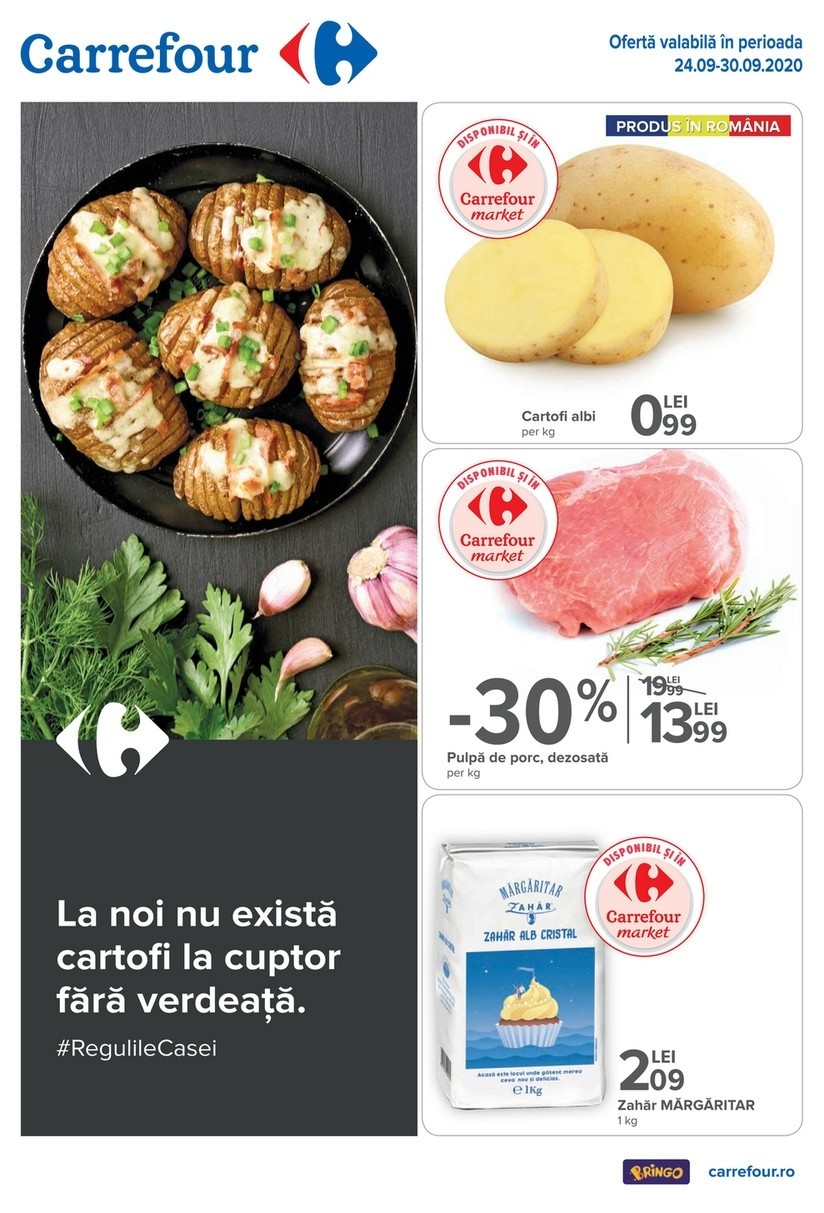 Catalog CARREFOUR - 24 Septembrie 2020 - 30 Septembrie 2020