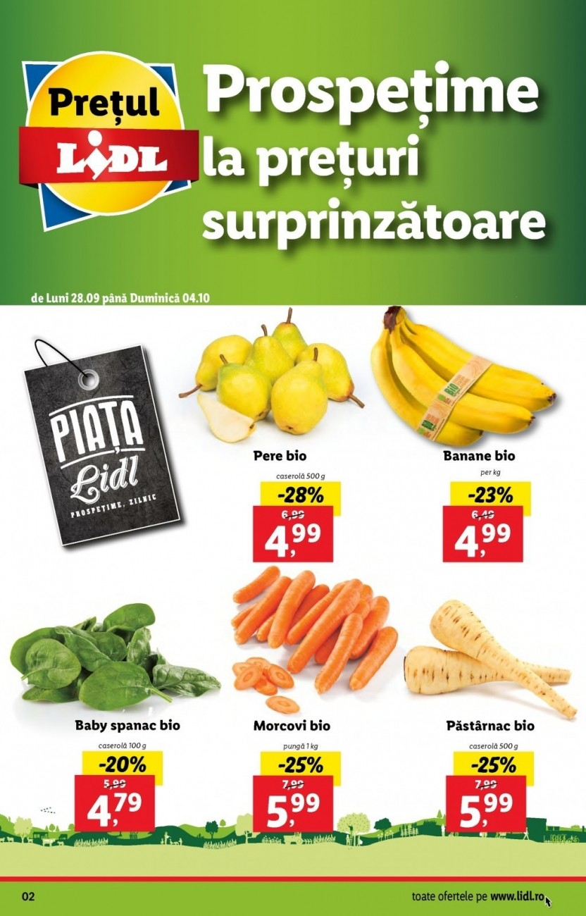 Catalog LIDL - Marcile tale preferate! 28 Septembrie 2020 - 04 Octombrie 2020