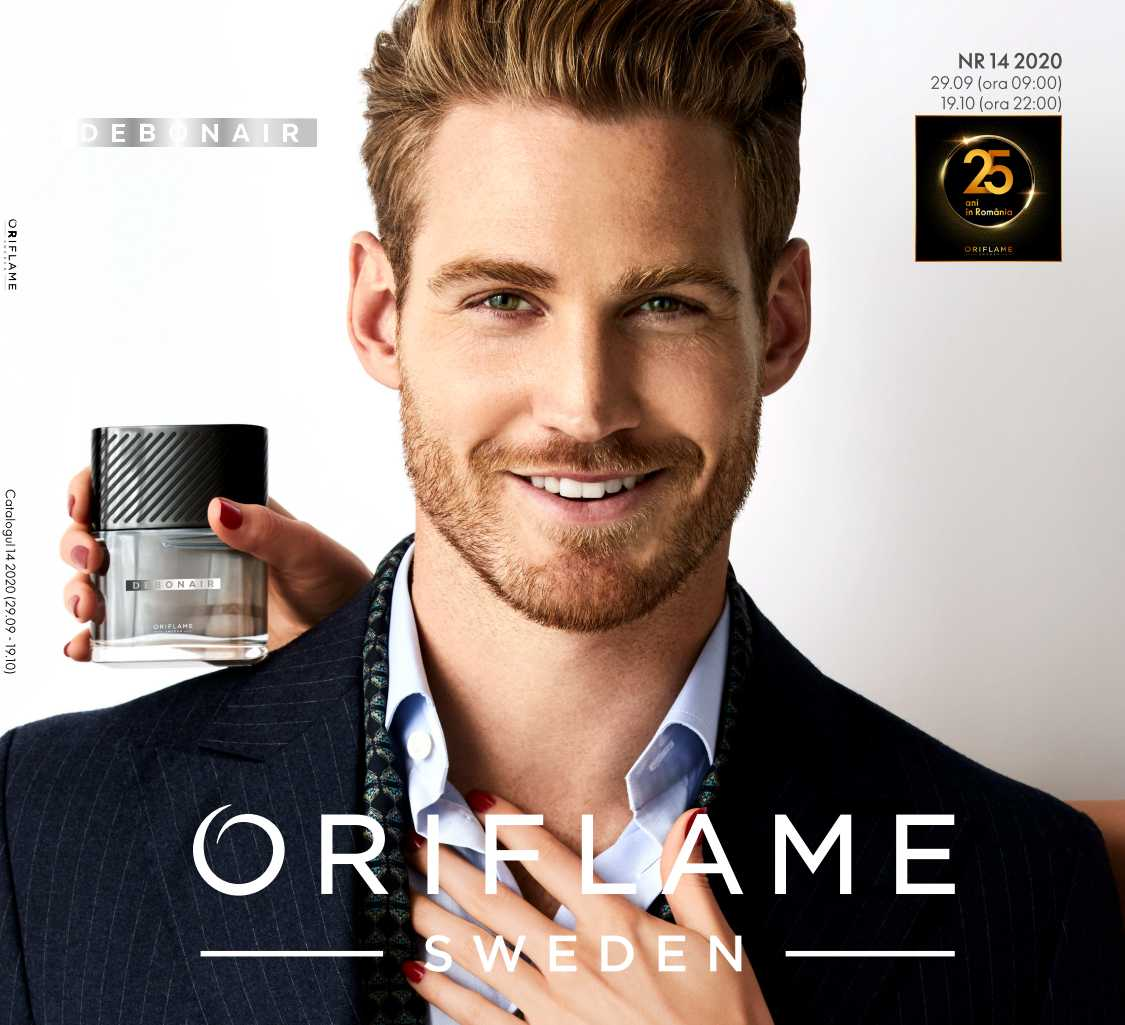 Catalog ORIFLAME 14 2020, valabil: 29 Septembrie 2020 - 19 Octombrie 2020