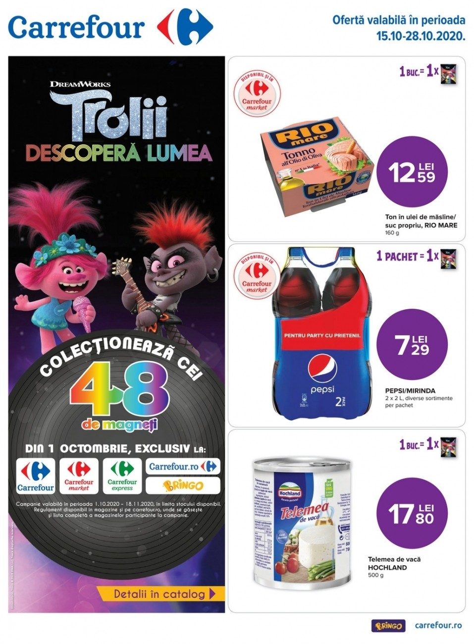 Catalog CARREFOUR - 15 Octombrie 2020 - 28 Octombrie 2020