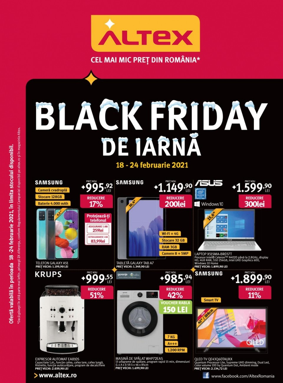 Catalog ALTEX Black Friday - 18 Februarie 2020 - 24 Februarie 2021