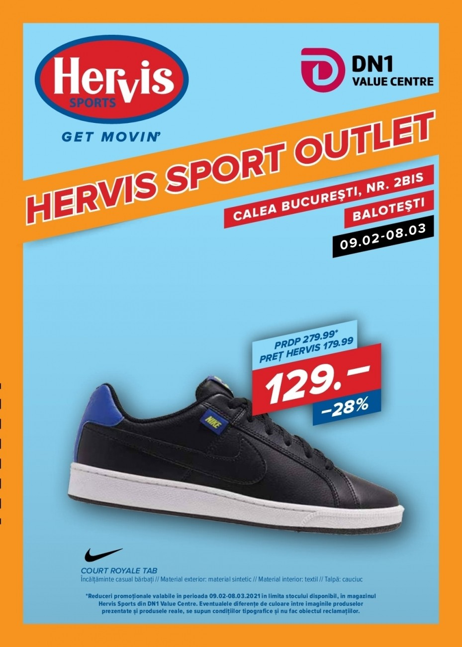 Catalog HERVIS SPORTS - 09 Februarie 2021 - 08 Martie 2021