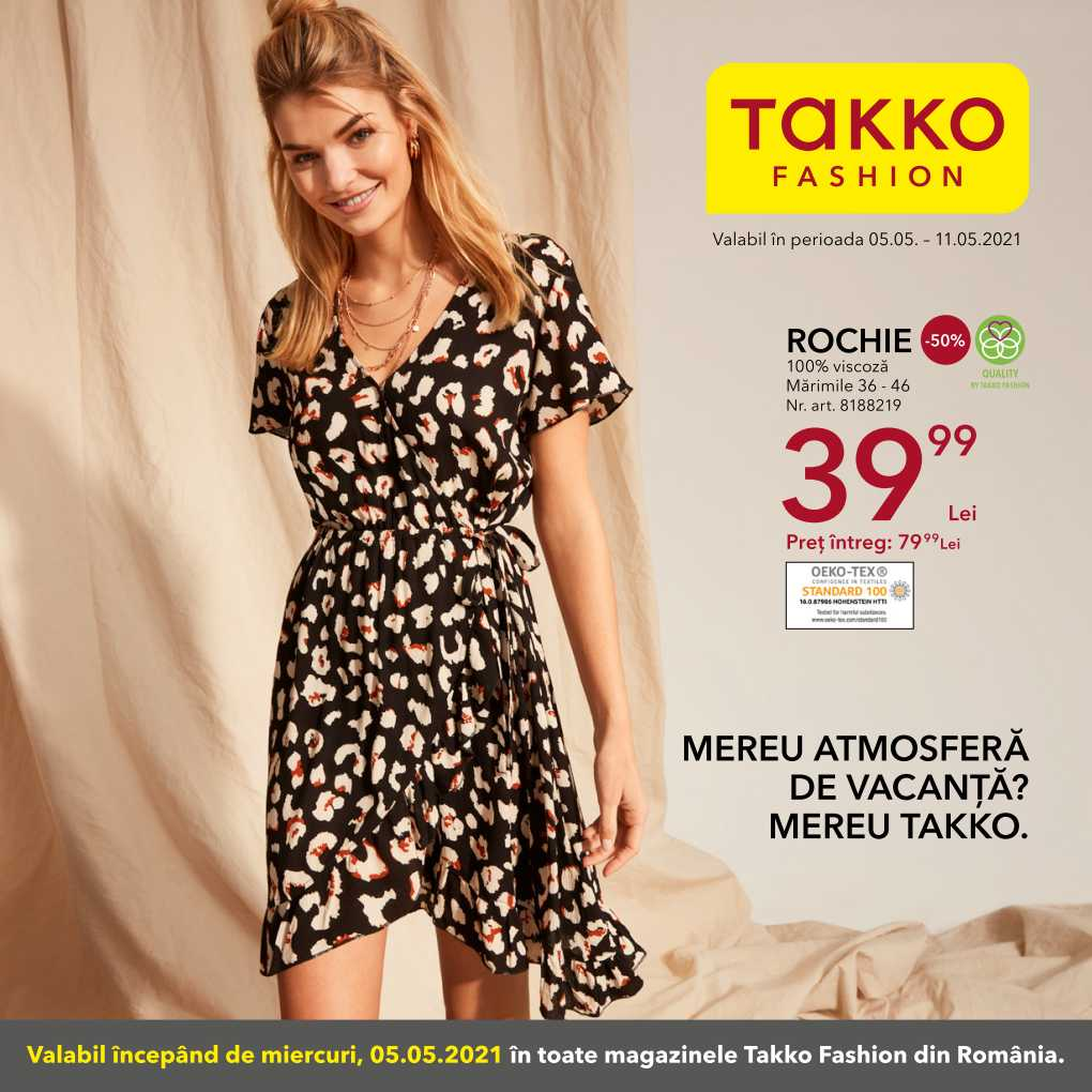 Catalog TAKKO FASHION - 05 Mai 2021 - 11 Mai 2021