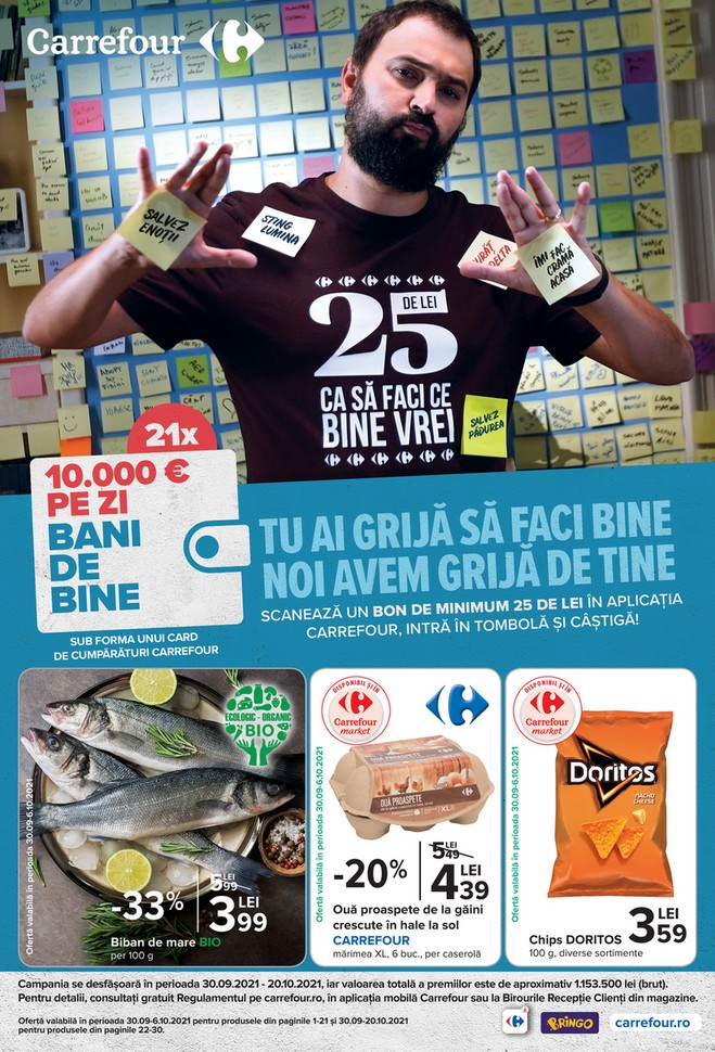 Catalog CARREFOUR 30 Septembrie 2021 - 06 Octombrie 2021