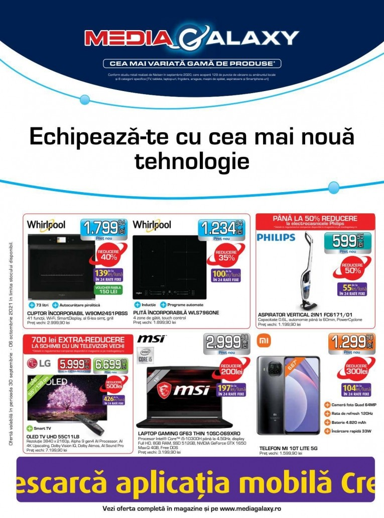 Catalog MEDIA GALAXY - 30 Septembrie 2021 - 06 Octombrie 2021
