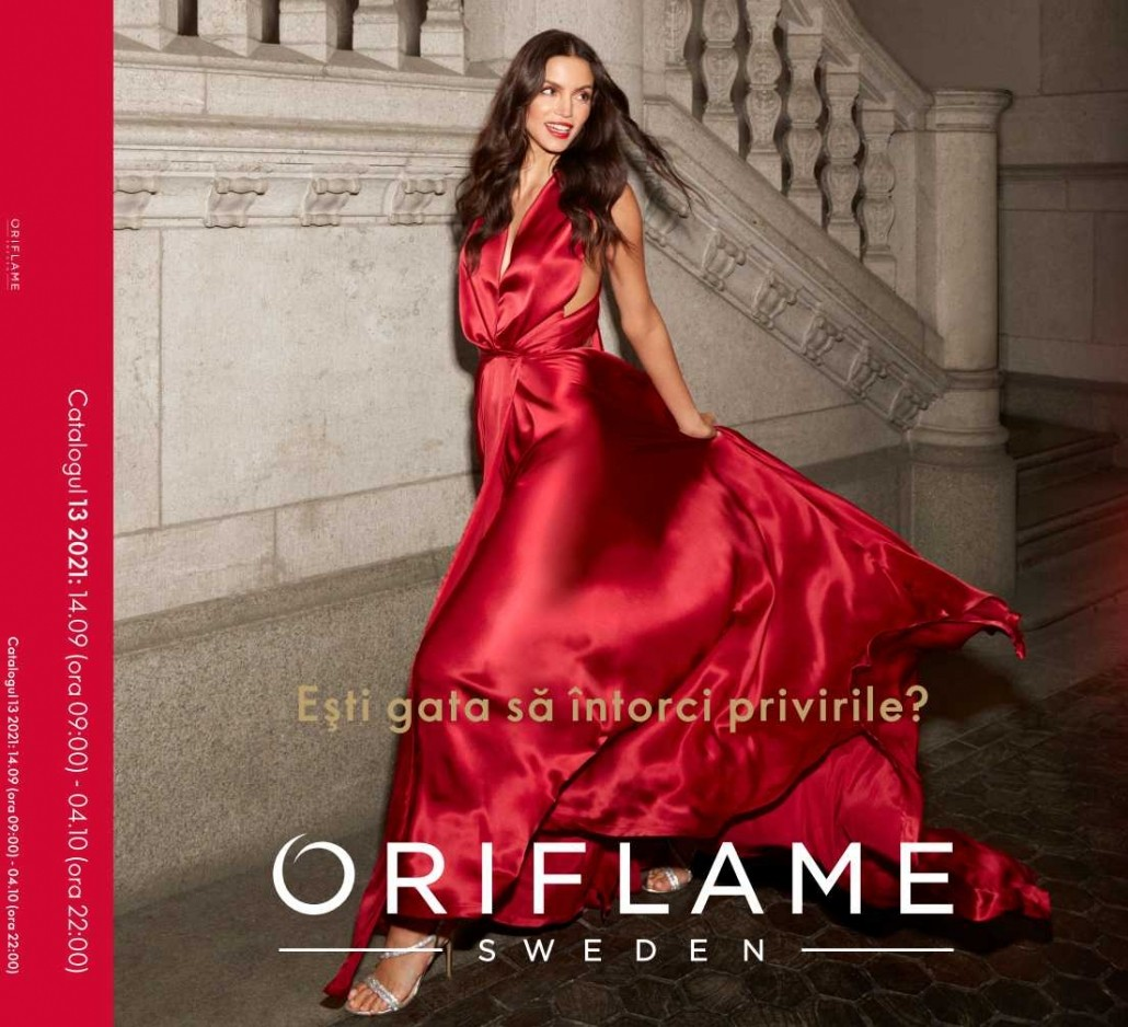 Catalog ORIFLAME C13 2021, valabil: 14 Septembrie 2021 - 04 Octombrie 2021