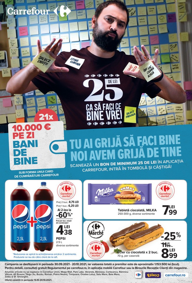 Catalog CARREFOUR 14 Octombrie 2021 - 20 Octombrie 2021