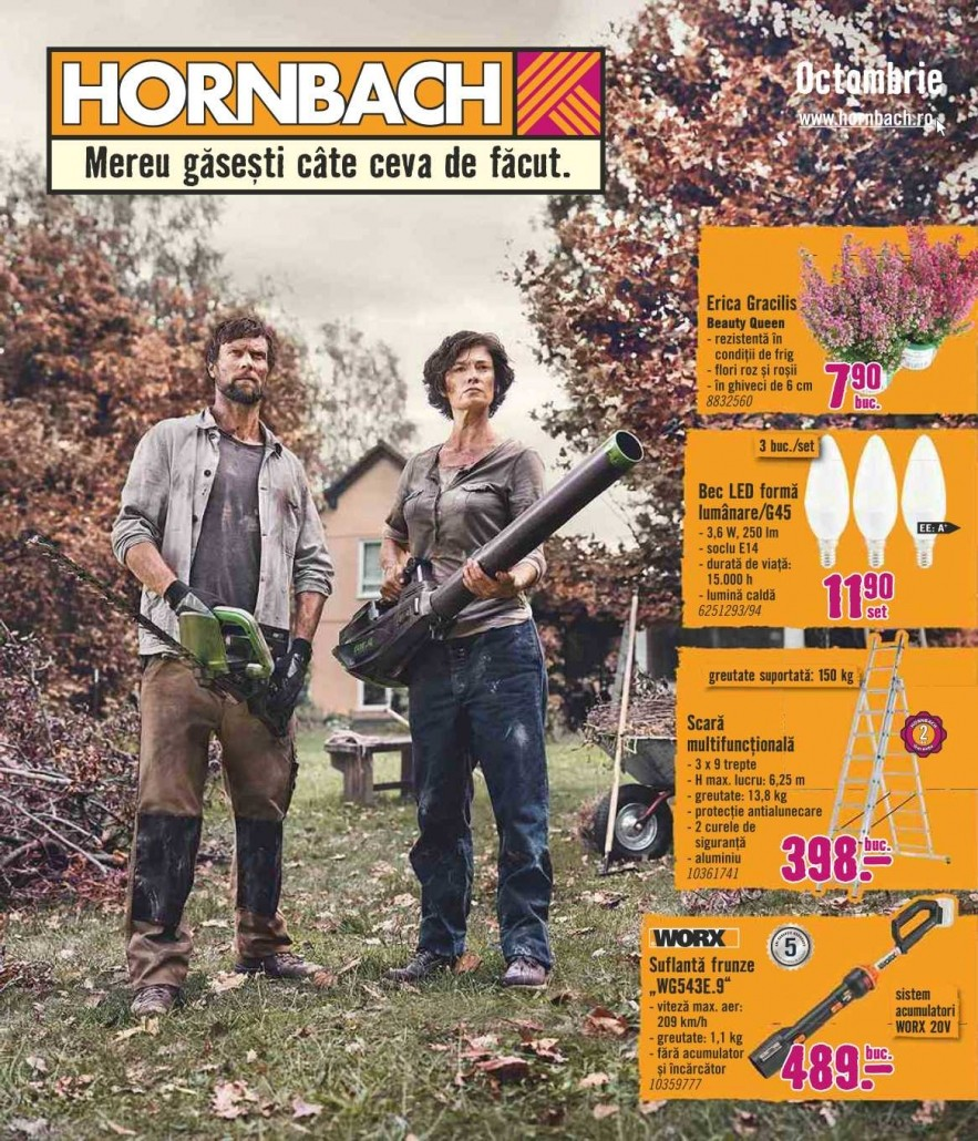 Catalog HORNBACH - 04 Octombrie 2021 - 31 Octombrie 2021