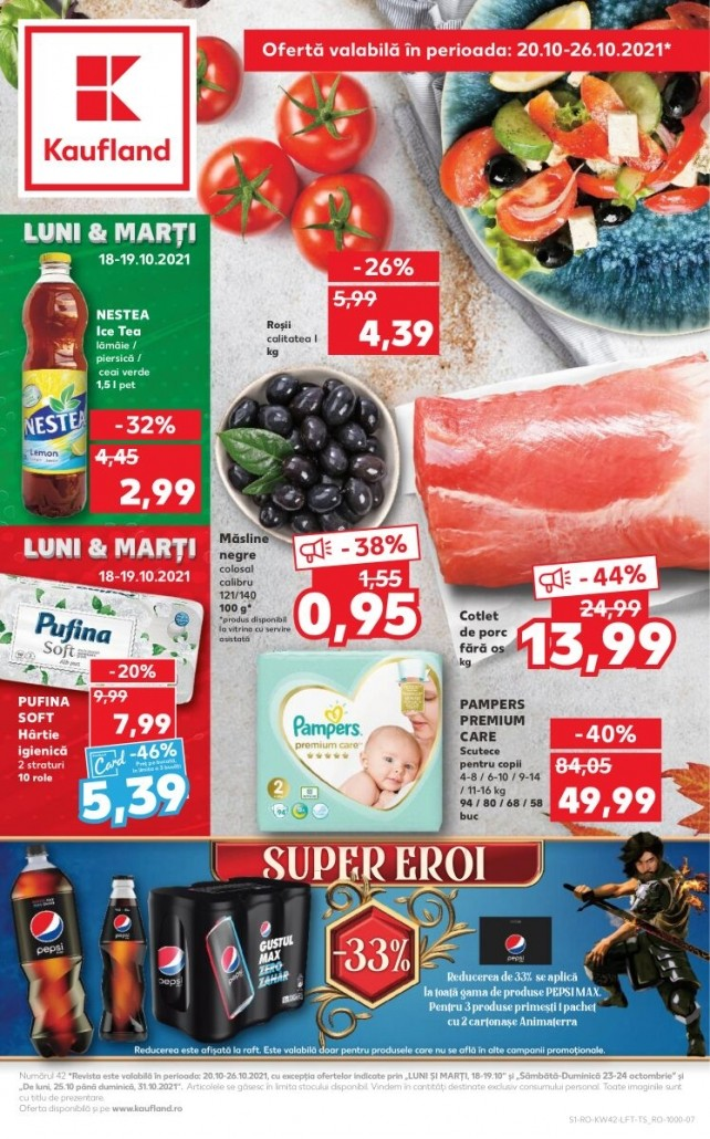 Catalog KAUFLAND 20 Octombrie 2021 - 26 Octombrie 2021
