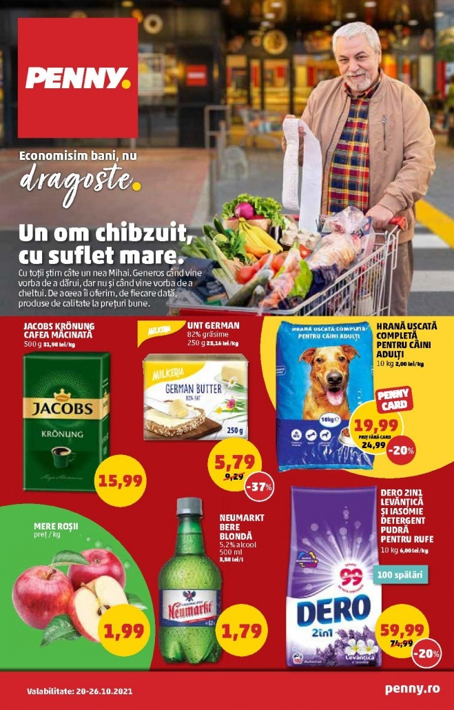 Catalog PENNY MARKET 20 Octombrie 2021 - 26 Octombrie 2021 - pliant national